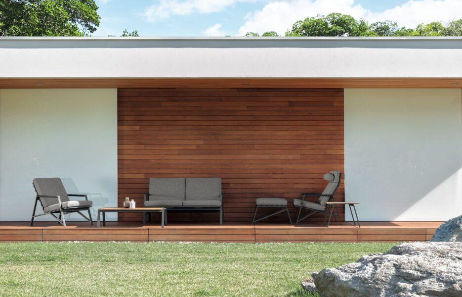 Cottage Table à café 120 x 120 4