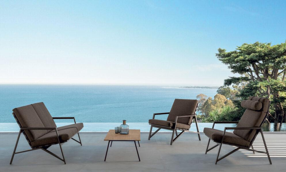Cottage Table à café 120 x 120 5