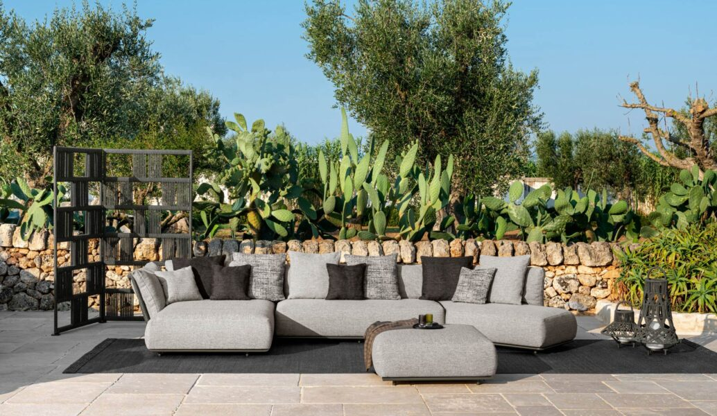 Scacco Pouf rond 3