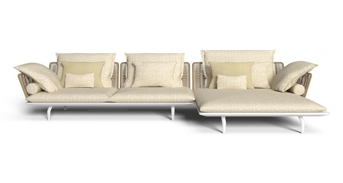 Cruise//alu canapé modulaire